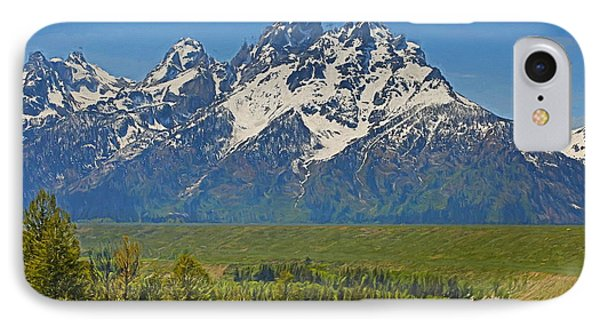 Grand Teton National Park And Snake River IPhone Case