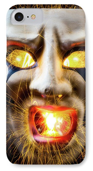 Graphic Hot Mask IPhone Case