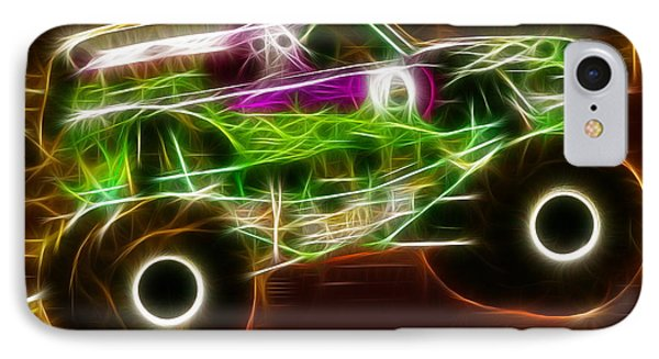 Grave Digger Monster Truck IPhone Case