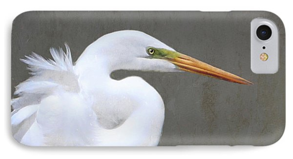 Great White Egret IPhone Case