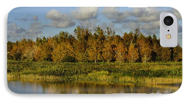 Green Cay In Autumn IPhone Case