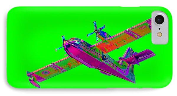 Green Fire Flight  IPhone Case