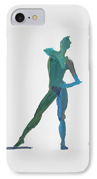 Green Gesture 2 Pointing IPhone Case