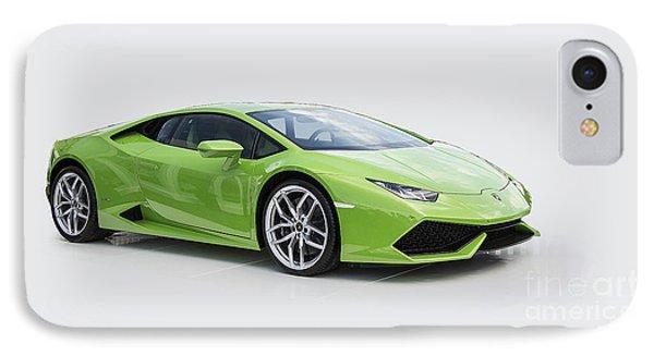 Green Huracan IPhone Case