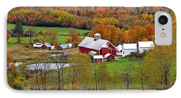 Green Mountain Farm IPhone Case