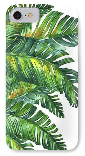 Sky iPhone 8 Case - Green Tropic  by Mark Ashkenazi