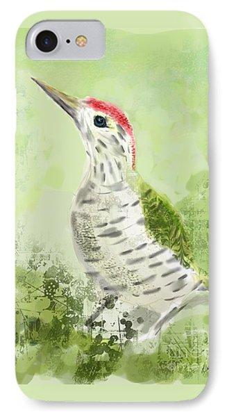 Green Woodpecker IPhone Case