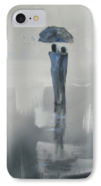 Grey Day Romance IPhone Case