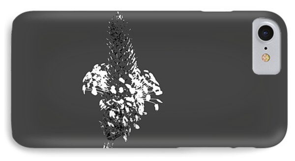 Grey Plaintain IPhone Case