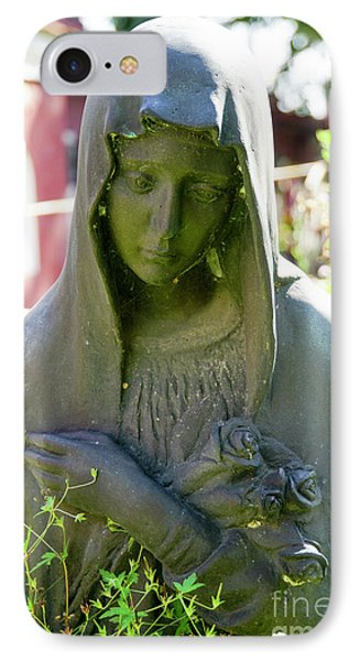 Grieving Woman Statue  IPhone Case