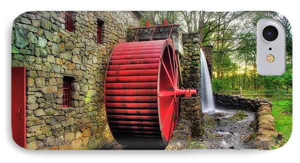 IPhone Case featuring the photograph Grist Mill In Autumn by Joann Vitali