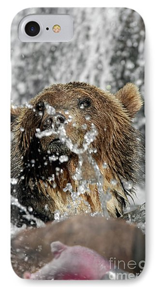 Grizzly Fishing 2 IPhone Case