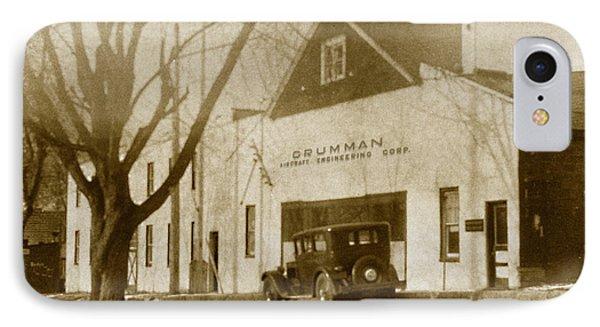 Grumman Baldwin Garage IPhone Case