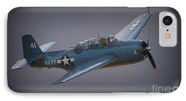 Grumman Tbf Avenger No.41 Bluegray IPhone Case