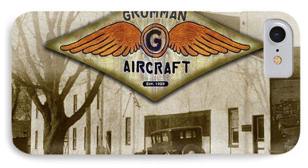 Grumman Wings IPhone Case