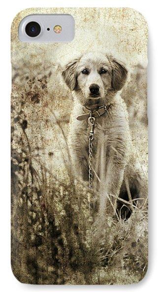 Grunge Puppy IPhone Case