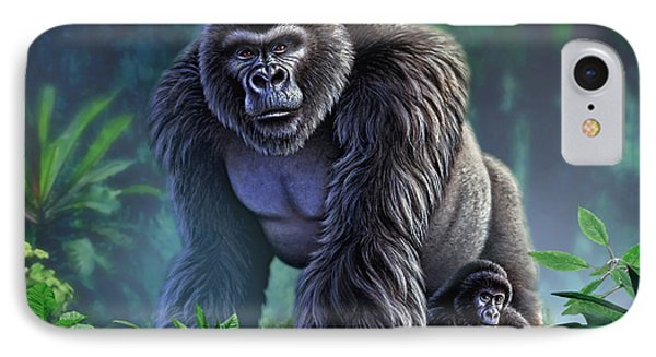 Africa iPhone 8 Case - Guardian by Jerry LoFaro