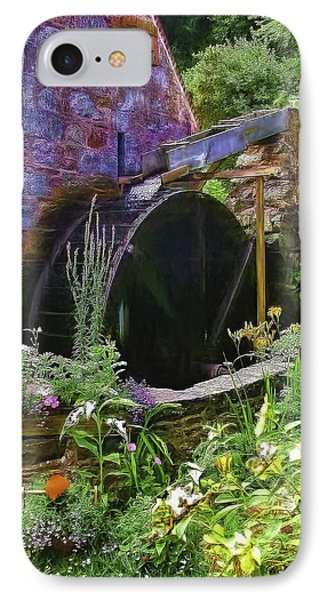 Guernsey Moulin Or Waterwheel IPhone Case