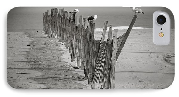 Gull Fence IPhone Case