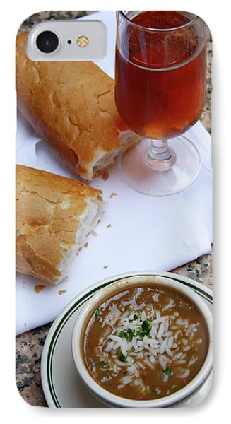 Gumbo Lunch IPhone Case