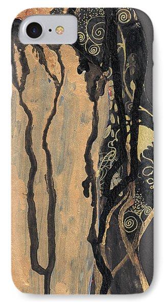 Gustav Klimt's Tears IPhone Case