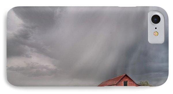 Hail Shaft And Montana Barn IPhone Case