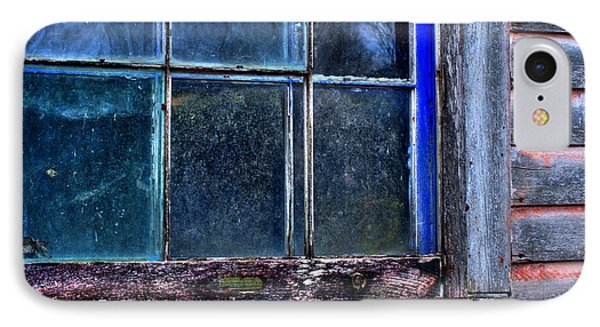Half Window Colors In An Abandoned Building. IPhone Case
