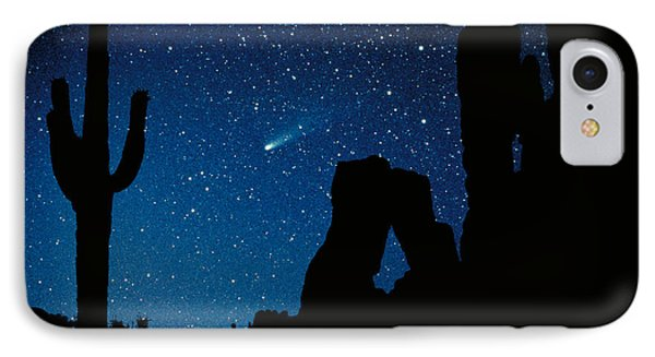 Desert iPhone 8 Case - Halley's Comet by Frank Zullo