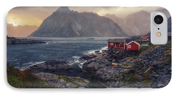 Hamnoy IPhone Case