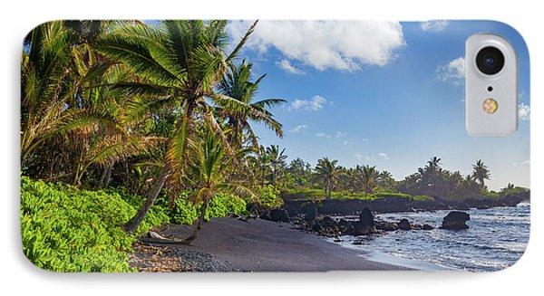 Hana Bay Palms IPhone Case