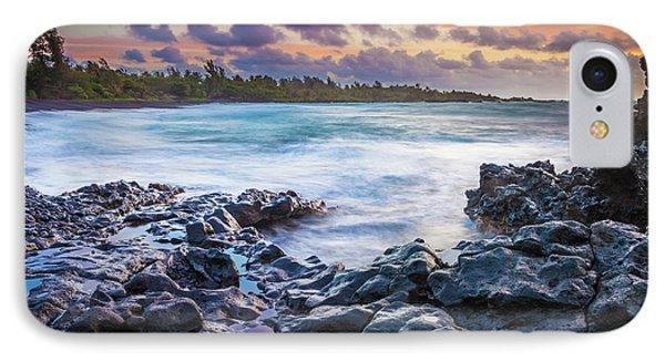 Hana Bay Rocky Shore #1 IPhone Case
