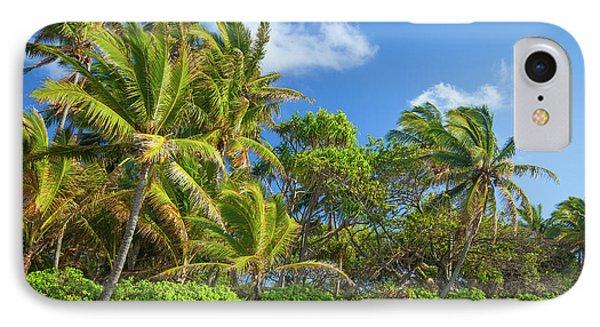 Hana Palm Tree Grove IPhone Case