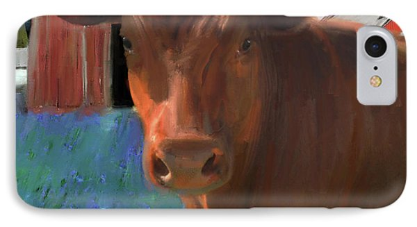 Happy Cow West Marin  IPhone Case