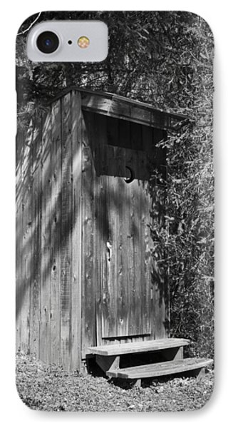 Happy Hollow Outhouse IPhone Case