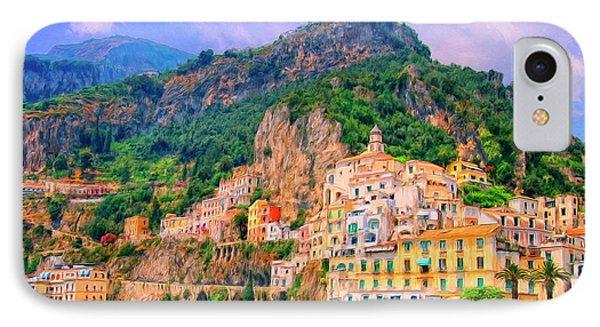 Harbor At Amalfi IPhone Case