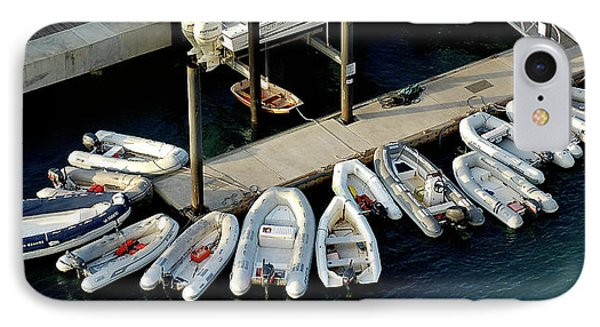 Harbor Boats IPhone Case