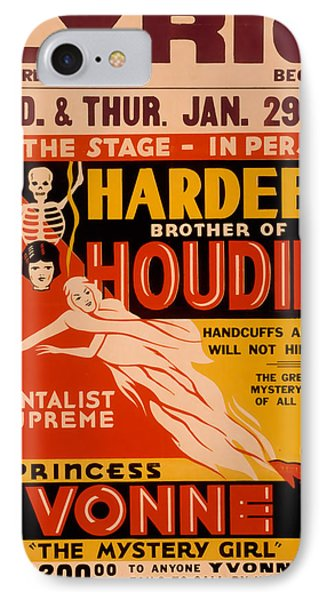 Hardeen Brother Of Houdini IPhone Case