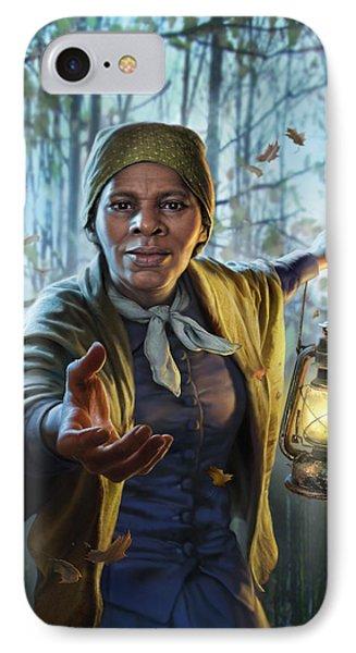 Train iPhone 8 Case - Harriet Tubman by Mark Fredrickson