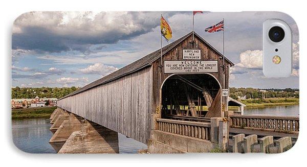 Hartland Covered Bridge IPhone Case