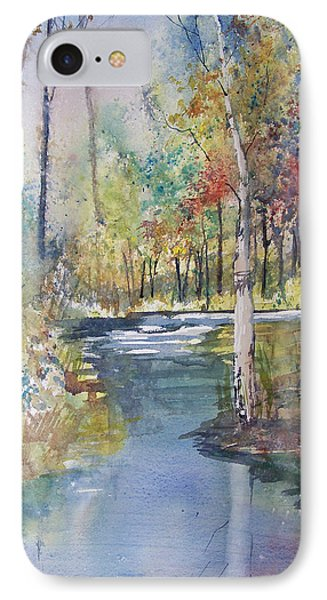 Hartman Creek Birches IPhone Case