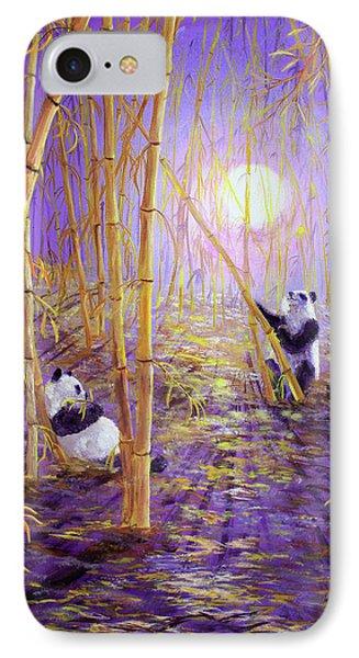 Harvest Moon Pandas  IPhone Case