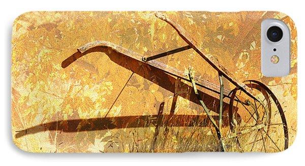 Harvest Plow IPhone Case