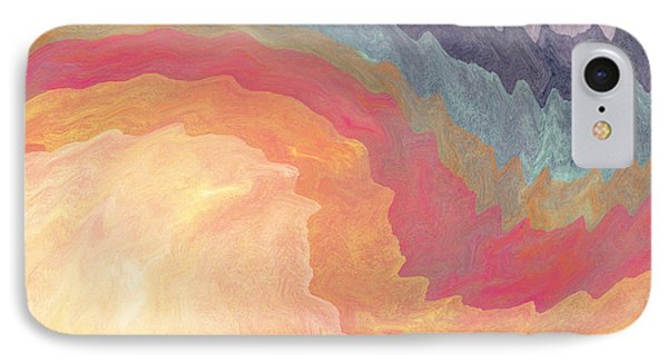Harvest Wind- Abstract Art By Linda Woods IPhone Case
