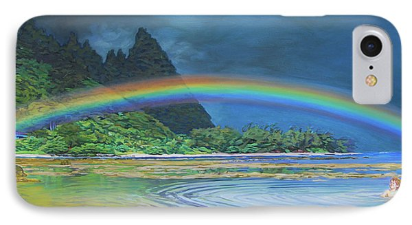 Hawaiian Rainbow IPhone Case