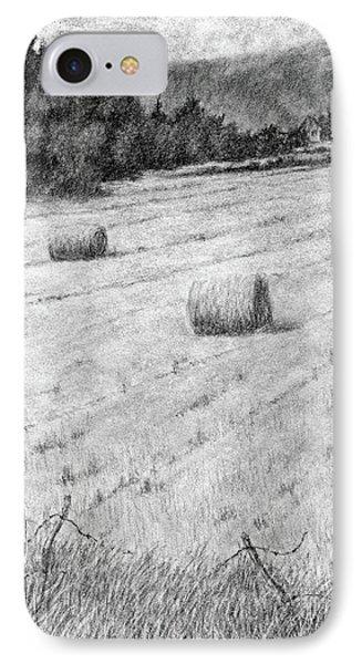 Hay Harvest IPhone Case