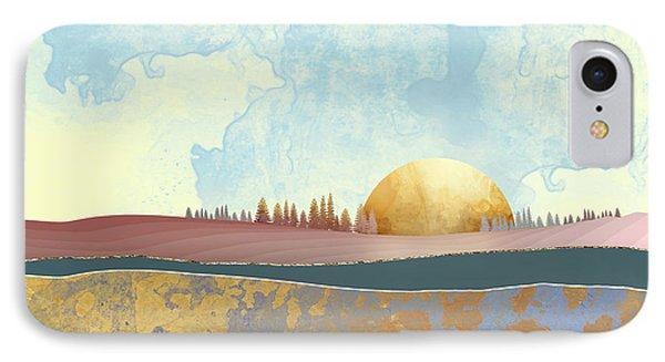 Landscape iPhone 8 Case - Hazy Afternoon by Katherine Smit