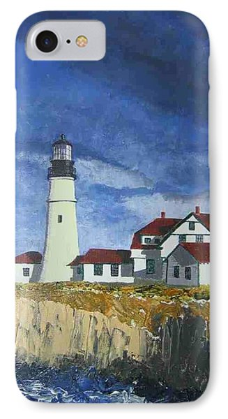 Head Lighthouse  IPhone Case