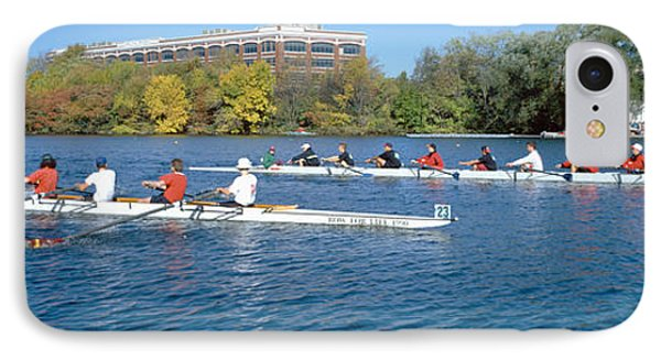 Head Of The Charles Rowing Festival IPhone Case