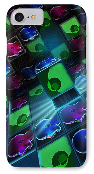 Heads Thinking In The Art Room Of Silence IPhone Case