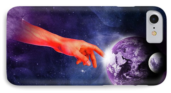 Healing Touch IPhone Case